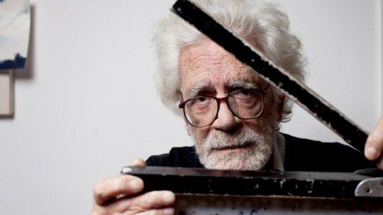 Le réalisateur Eduardo Coutinho. Photo : Guillermo Giansanti